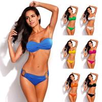 Wholesale New Push Up Bikini Brazilian Swimsuits Swimwear Women Sexy Bikinis Set Bathing Suit Swim Suit