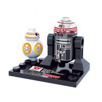 achat en gros de lego marvels-Vente en gros 10pcs Star Wars Super héros Marvel Avengers BB8 R2D2 mini action Figures Building Blocks Bricks Jouets Pour enfants Enfants