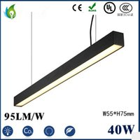 Wholesale 40W W W LED Linear Light M M M W55 H75mm LED High Bay Light LED Batten Tube with UL CE ROHS