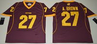 Men antonio homes - Antonio Brown Central Michigan College Jersey Stitched Home Red