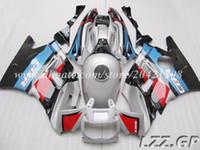 Carenados de alta calidad para Honda CBR600 F2 1991-1994 1992 1993 CBR 600 F2 91-94 CBR600 F2 91 92 93 94 # h28w6 conjuntos de carenado de plata + regalos