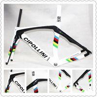 Wholesale World Champion Cipollini RB1K carbon bike frames With K T1100 BB30 BB68 Black RB1K road bike carbon frameset