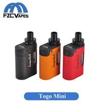Wholesale Original Kanger TOGO Mini Kit mah All Ine One Starter Kit with CLOCC Coil Head ml Capacity Electronic Cigarette