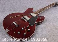 Wholesale New arrive Custom shop ES Figured VOS Jazz guitar Wine red ES345 hollow guitar