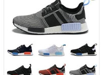 best outdoor shoes for men - Best Men NMD Runner Primeknit High Quality Running Shoes with Box NMD Boost Basketball Shoes Breathable Sneaker Outdoor Shoes for Women