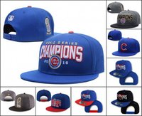 Wholesale 2016 World Series Champion Cubs Hat Adjustable Snapback Hats CHICAGO CUBS Snap Back Caps Cheap Baseball Hats