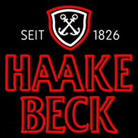 becks sign - Haake Becks Double Anchors Neon Sign Custom Handmade Real Glass Store Beer Bar KTV Club Motel Display Neon Signs With PlasticBoard quot X20 quot