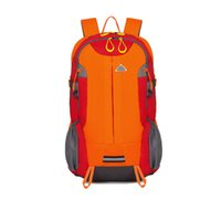 Wholesale Pure color female leisure travel backpack hiking backpack male bag outside camping mountaineering BaoHu movement