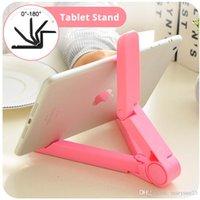 Wholesale Tablet Bracket tablet Stand tablet Holder Tablet Mount Foldable Adjustable universal for Tablet PC Mobile Phone below Inches