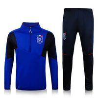 Wholesale Maillot de foot Italy Survetement Football Soccer Jacket Italie training tracksuit Mens Training Italie Jogging