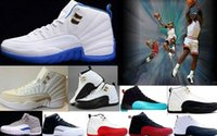 air dampers - Jumpman Retro XII S Men Basketball Shoes Men Women s ovo white Blue TAXI Flu game Sneakers Air s Sport Shoes