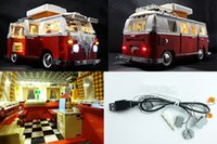 Wholesale LED light up kit only light included for lego technic and Lepin Creator the T1 Camper Van Blocks bricks set not included