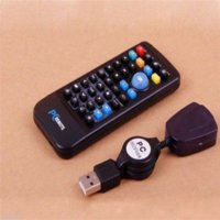Wholesale Mouse Joystick For XBMC Home Theater and USB IR Remote Raspberry Pi Controller Newe