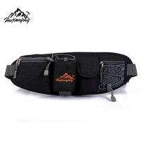 Wholesale Premium Colors Running Sports Waist Bag Man Travel Running Waist Bag Hiking Sport Men Pack Waist Belt Zip Pouch Gifts