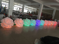 Wholesale Wedding Decoration Inflatable Flower Chain for Event And Party Decoration
