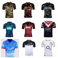 Wholesale have stock New Zealand Rugby Blues JerseyS Chiefs crusader best quality shirt Rugby Sydney rooster Shirt hurricane Highlande S XL