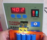 battery welders - LED Pulse Battery Spot Welder Applicable Notebook Phone Battery Precision Welding Machine with Pedal POWER