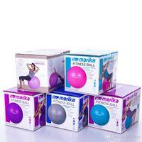 Wholesale 65cm Exercise Ball with Air Pump Body Slimming For Yoga Fitness Pilates Home Gym Body Aerobics Pilates Yoga Ball