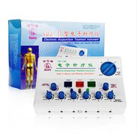 Wholesale Electronic acupuncture instrument household medical treatment instrument electronic acupuncture and moxibustion physiotherapy instrument