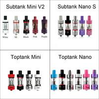 Wholesale Kanger Toptank Mini Nano Subtank Mini V2 Nano S Tank Atomizers for kangertech topbox subox mini subvod subvod mega kit high quality
