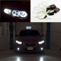 Wholesale For Acura TSX Excellent Ultra bright headlight illumination CCFL Angel Eyes kit Halo Ring