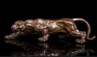 art cubism - inch Art Deco Leopards Bronze Sculpture Cubism Panthers Statue