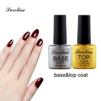 best topcoat - Saroline Gel Topcoat Best Quality Professional Gel Polish Use No Wipe No Alcohol Non Cleansing Top Coat Nail Art cheap