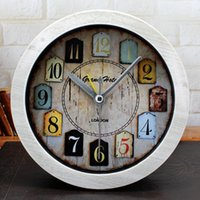 american antique desks - European Antique Style American Country Desk Clock D Alarm Clock Silent Clock Special Home Decor