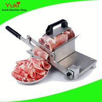 beef meat cuts - Stainless Steel Hand Beef Steak Cutter Mutton Roll Cutter Meat Cutter Small Meat Cutting Machine Household
