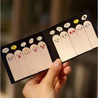 Wholesale South Korea stationery super cute Q fingers post it notes creative pad N times Can tear post it notes