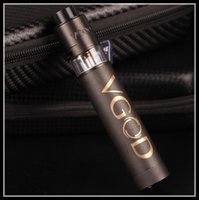 Wholesale HOT SALE VGOD pro mod mech Kit trick tank vaporizer delrin drip tip single mod kit