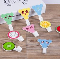 Wholesale hot sale home bathroom kitchen accessories self adhesive holder hanger hooks for door cute cartoons hanging wall hooks