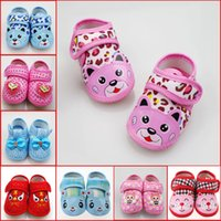 Wholesale Sapatos Infantil Baby Toddler Shoes Newborn Girls Infant Boy Sneakers Baby Girl Shoes Soft Cotton First Walker Autumn A7010