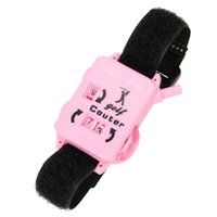Wholesale New Golf Score Counter Golf Score Stroke Keeper Count Watch Putt Counter Shot with Wristband
