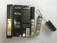 Wholesale 60pcs NYX Concealer Wand HD Brand Concealer Sticker Makeup High Definition Face Cosmetic Colors in stock