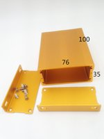 aluminum extruded shapes - Factory price various shapes Extruded aluminum profiles for Aluminum box Length Aluminum box Aluminum Extrusion Box