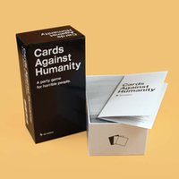 Wholesale 2017Humanity Cards Game UK US AU CA Basic Edition Cards Against Games Humanity Card Game Cards with best quality01