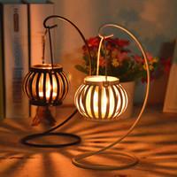 Mosaic acrylic wall holder - European Retro candlestick cm cm cm Classical Lantern Small Tealight Iron handicrafts Art Collectible