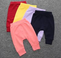 no brand baby pants comfort - DHL free mix styles Fashion INS Baby Pants Kids Pants cotton Casual Infant Trousers Girls Boys Apparel Comfort Baby Clothing