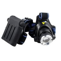 Wholesale Shipping by DHL TNT LM Zoomable XM L T6 LED Headlamp Lantern Mode Adjustable Headlight Flashlight for Camping Hiking