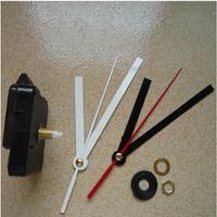 Nuevos accesorios de reloj caliente Reloj de pared central simple DIY Mecanismo de cuarzo hacer reparación Reemplazar piezas kit