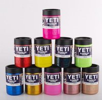 Wholesale 11 Colors oz Stainless Steel Colster can Yeti Coolers Rambler Colster YETI Cups Cars Beer Mug Free ship