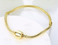 Wholesale Factory high quality gold crystal bracelets base chain diy jewelry accessories