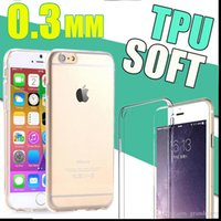 Wholesale Ultra Thin Slim Soft Silicone Clear Transparent TPU Gel Case For iPhone S Plus SE S Samsung Galaxy Note S6 edge S5 MQO
