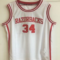 Wholesale Factory Outlet Cheap Williamson Razorbacks Basketball Jersey White Embroidery Stitched Personalized Shirt Custom any Number Name