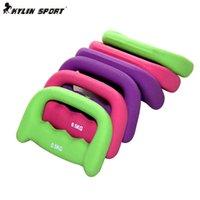 Wholesale 3 colors New Kg Type Fitness Dumbbell women s fitness dumbbell Arms For Fitness Gym sports goods equipment