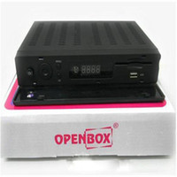 Wholesale 20pcs Original Openbox X5 Super full p satellite receiver with VFD Display support Youtube Gmail Google Maps Weather