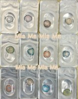 Wholesale New Arrival colors tone beatiful cosmetic Tri color contact lens piece pair Contact Lens display