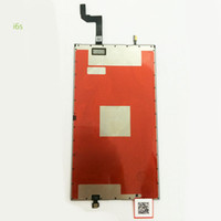 Wholesale Original New For iphone s inch s Plus inch backlight LCD Display Backlights Back Light film Refurbishment