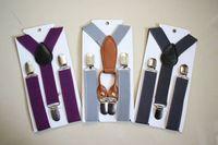 Suspenders active braces - 50 Kids Toddler Suspender Clip on Y Back Boys Girls Children Elastic Braces For Wedding Ring Bearer Photography Colors Mons yrs